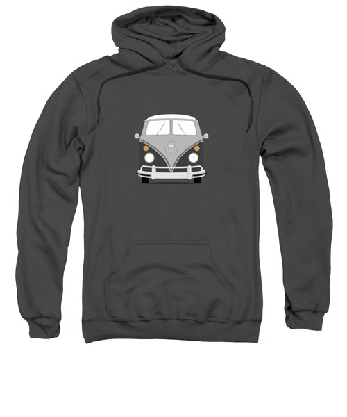 Vw Bus Grey Sweatshirt by Mark Rogan