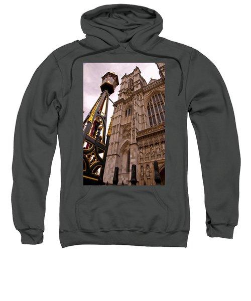 Westminster Abbey London England Sweatshirt by Jon Berghoff