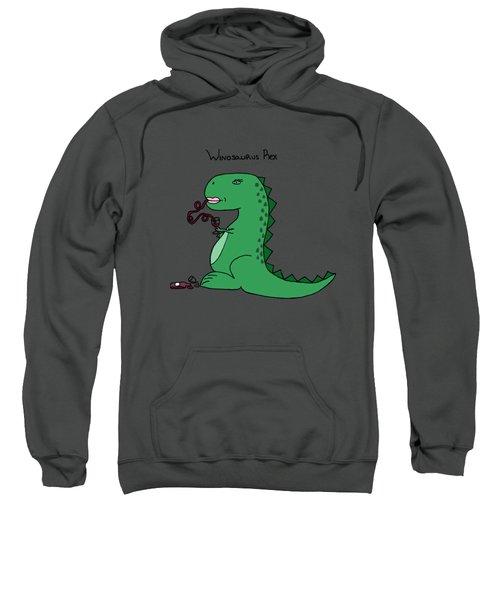 Winosaurus Rex Sweatshirt by Tamera Dion