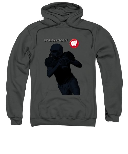 Wisconsin Football Sweatshirt by David Dehner