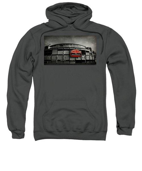 Wrigley Field Sweatshirt by Stephen Stookey