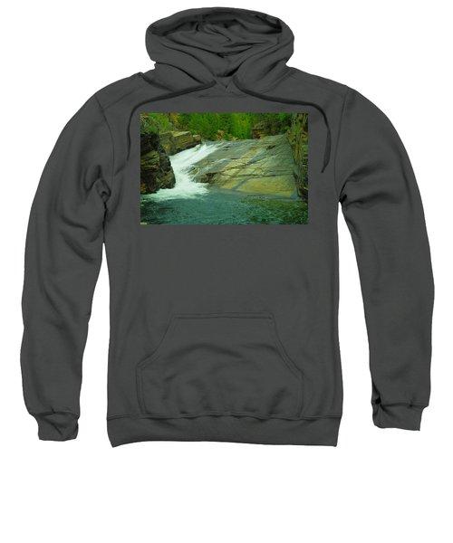 Yak Falls   Sweatshirt by Jeff Swan