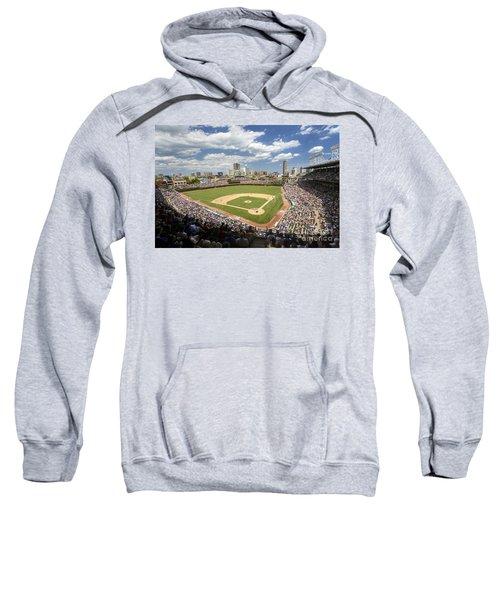0415 Wrigley Field Chicago Sweatshirt by Steve Sturgill