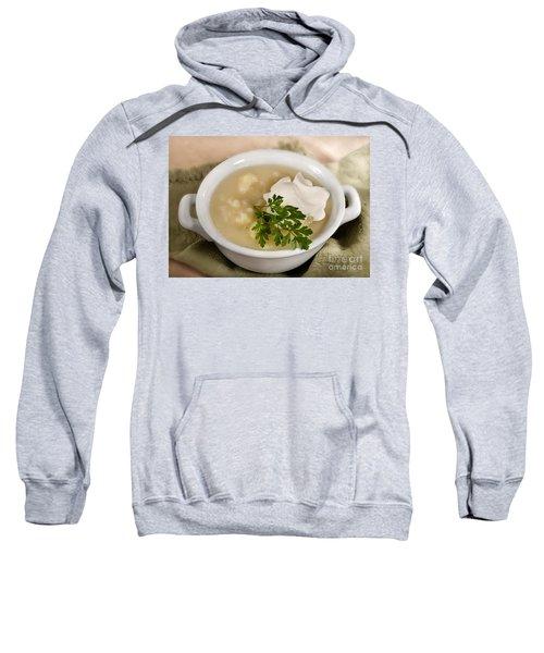 Cauliflower Soup Sweatshirt by Iris Richardson