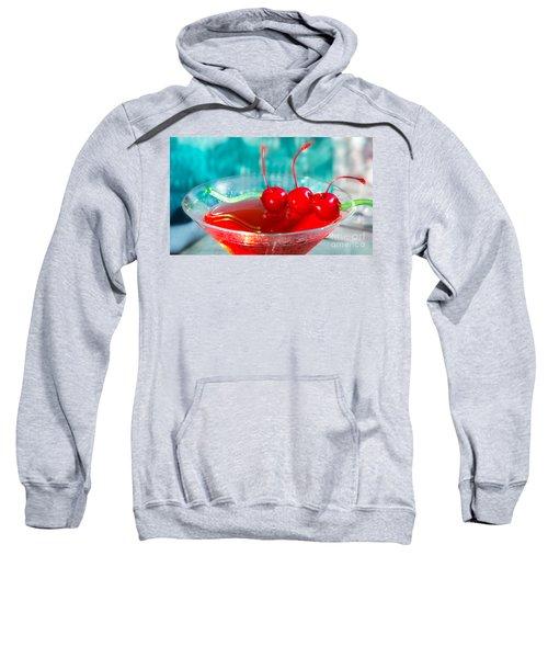 Shirley Temple Drink Sweatshirt by Iris Richardson