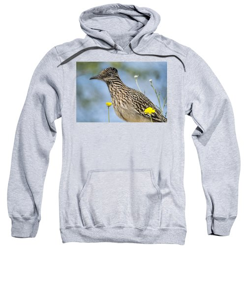 The Greater Roadrunner  Sweatshirt by Saija  Lehtonen
