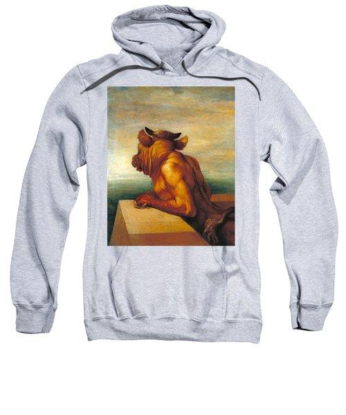The Minotaur Sweatshirt by George Frederic Watts