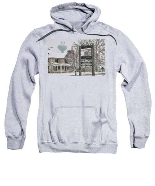 The Whitehouse Inn Sign 7034 Sweatshirt by Jack Schultz