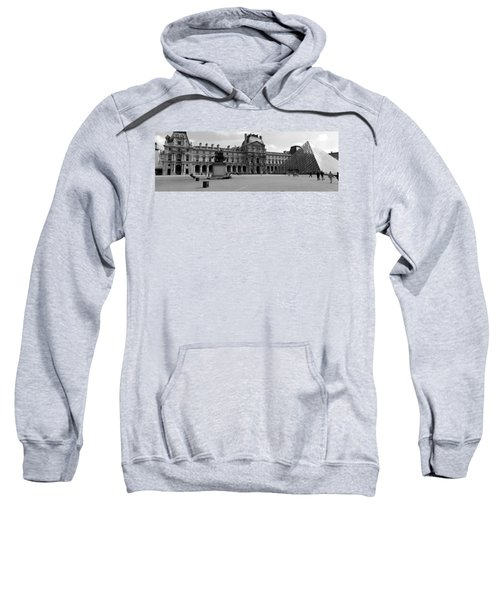 Tourists In The Courtyard Of A Museum Sweatshirt by Panoramic Images