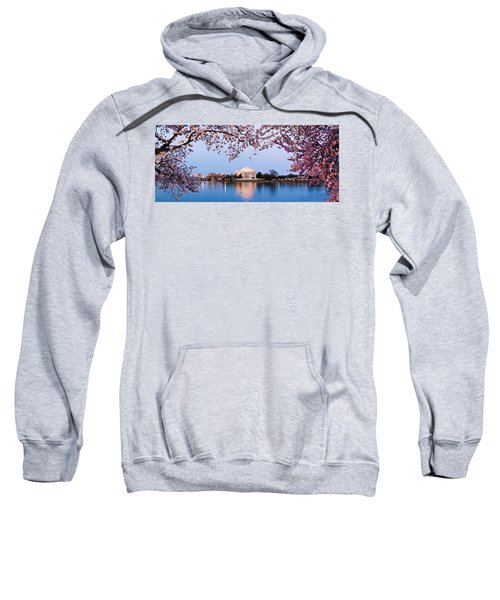 Cherry Blossom Tree With A Memorial Sweatshirt by Panoramic Images