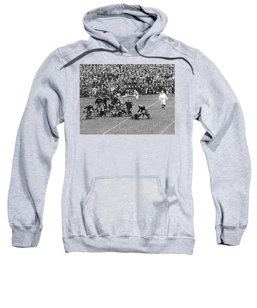 Notre Dame-army Football Game Sweatshirt by Underwood Archives