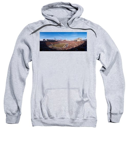 Spectators Watching A Football Match Sweatshirt by Panoramic Images