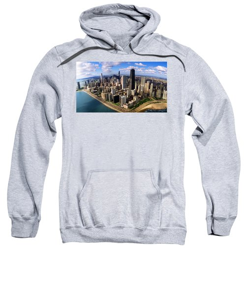 Chicago Il Sweatshirt by Panoramic Images