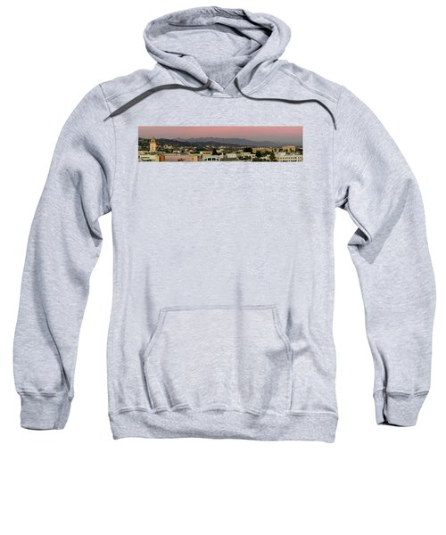 Elevated View Of Buildings In City Sweatshirt by Panoramic Images