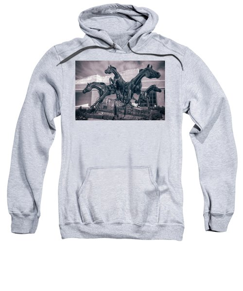 A Monument To Freedom II Sweatshirt by Joan Carroll