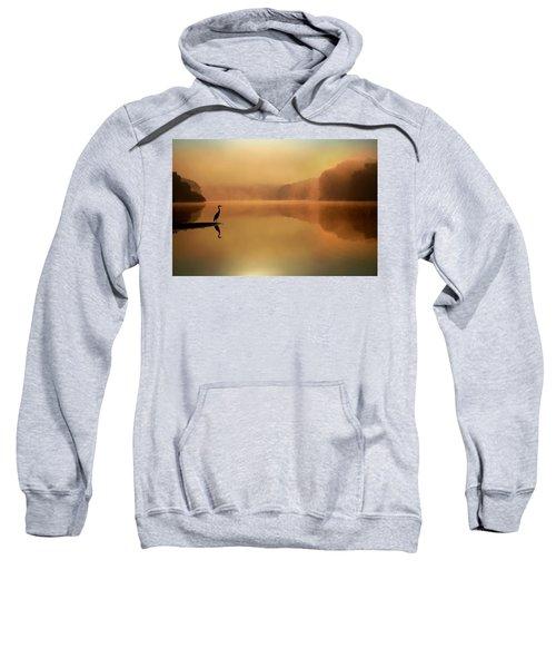 Beside Still Waters Sweatshirt by Rob Blair