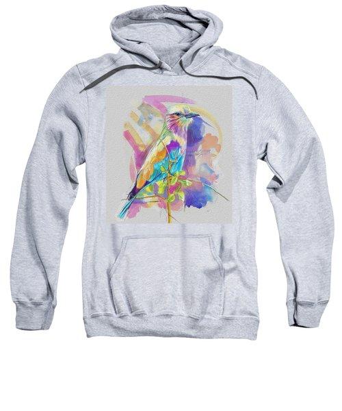 Bird On A Twig Sweatshirt by Catf