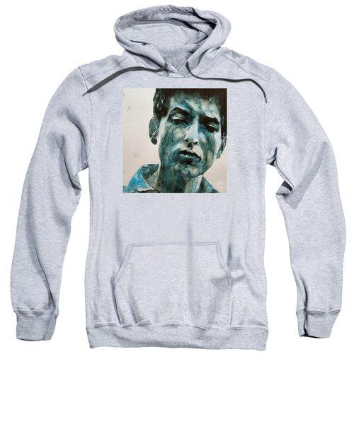 Bob Dylan Sweatshirt by Paul Lovering