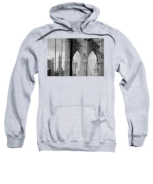 Brooklyn Bridge New York City Usa Sweatshirt by Sabine Jacobs