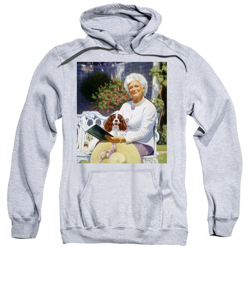 Companions In The Garden Sweatshirt by Candace Lovely