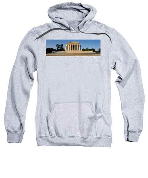 Facade Of A Memorial, Jefferson Sweatshirt by Panoramic Images