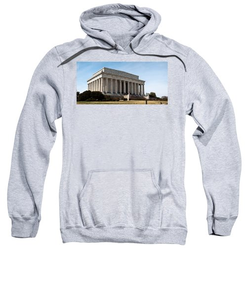 Facade Of The Lincoln Memorial, The Sweatshirt by Panoramic Images