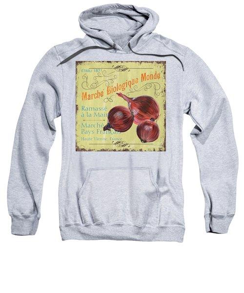 French Market Sign 4 Sweatshirt by Debbie DeWitt