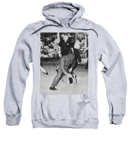Harlem Race Riots Sweatshirt by Underwood Archives
