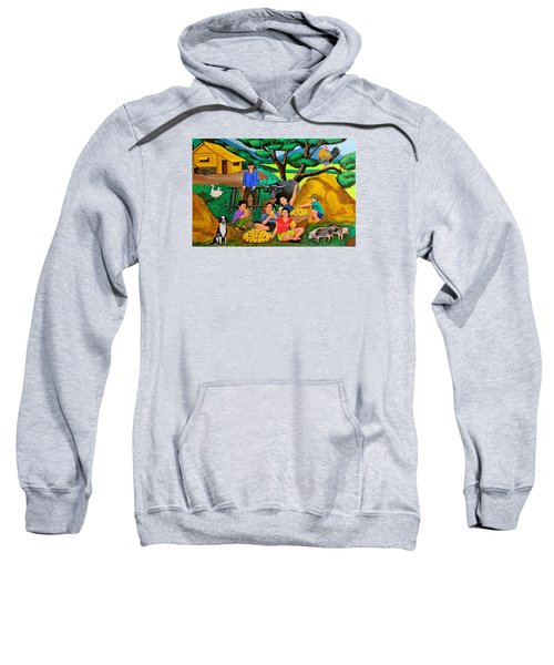Harvest Time Sweatshirt by Cyril Maza