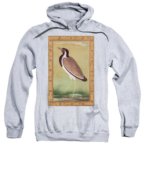 Indian Lapwing Sweatshirt by Mansur