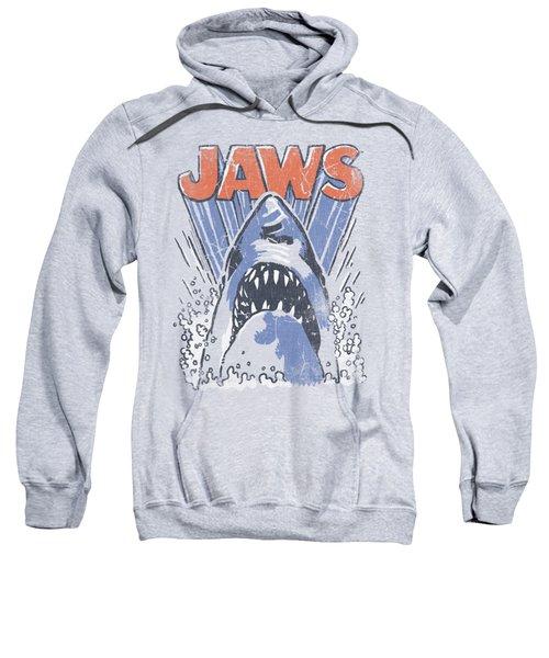 Jaws - Comic Splash Sweatshirt by Brand A