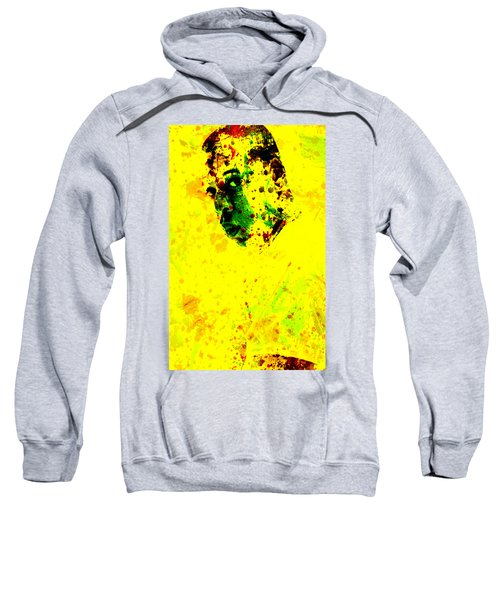 Jay Z Paint Splash Sweatshirt by Brian Reaves