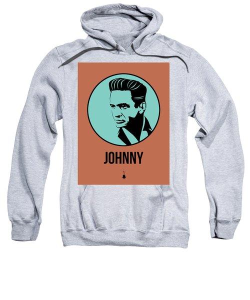 Johnny Poster 1 Sweatshirt by Naxart Studio