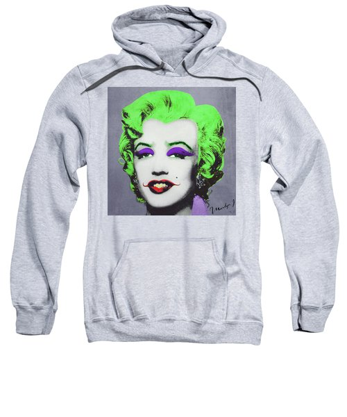 Joker Marilyn Sweatshirt by Filippo B