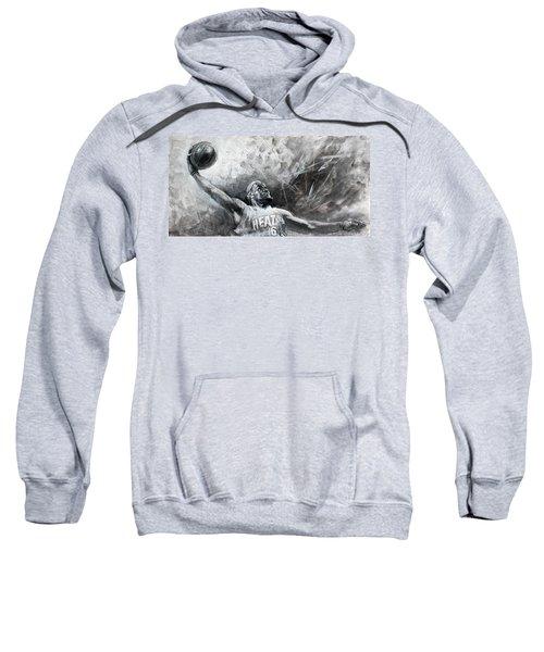 King James Lebron Sweatshirt by Ylli Haruni