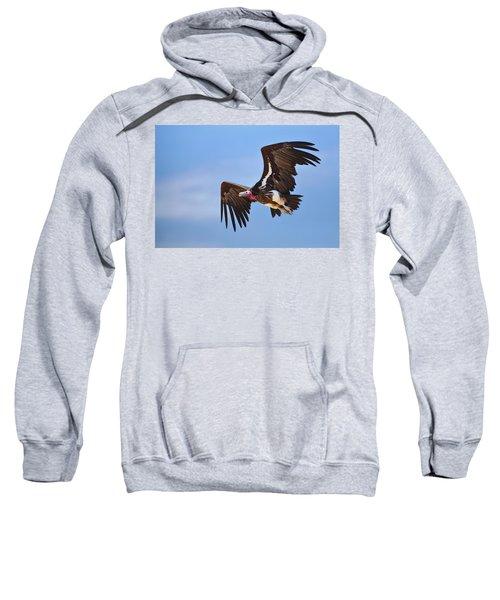 Lappetfaced Vulture Sweatshirt by Johan Swanepoel