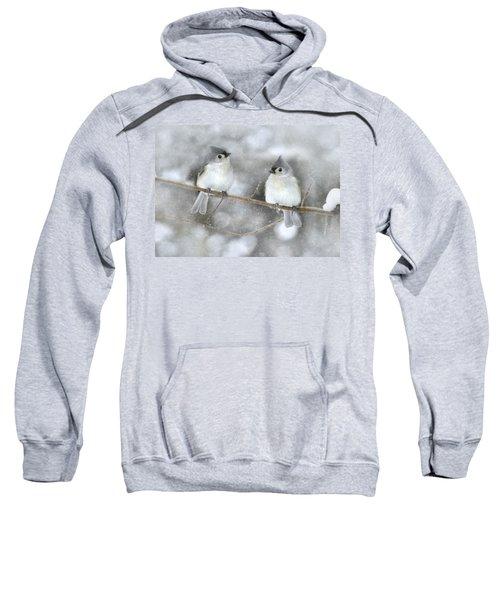 Let It Snow Sweatshirt by Lori Deiter