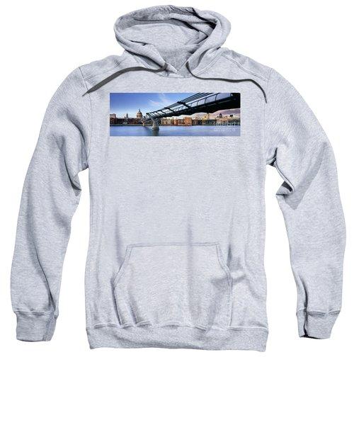 Millennium Bridge London 1 Sweatshirt by Rod McLean