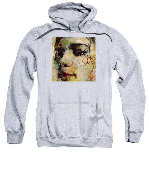 Man In The Mirror Sweatshirt by Paul Lovering
