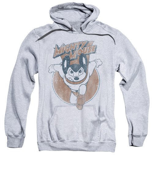 Mighty Mouse - Flying With Purpose Sweatshirt by Brand A