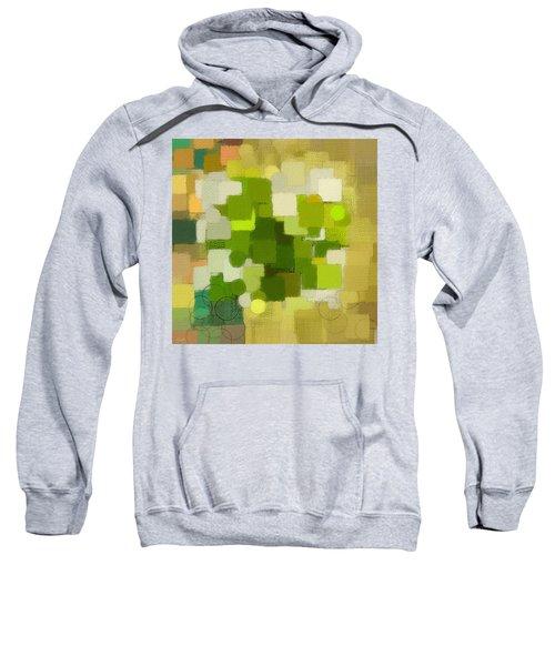 Modern Abstract Xxxv Sweatshirt by Lourry Legarde