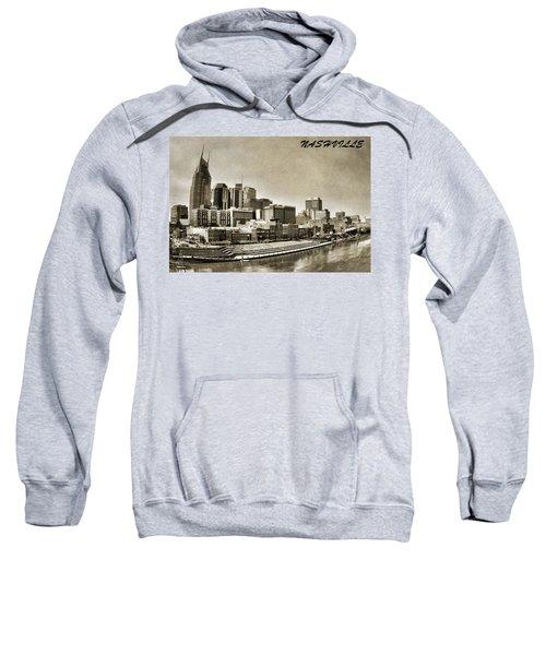 Nashville Tennessee Sweatshirt by Dan Sproul