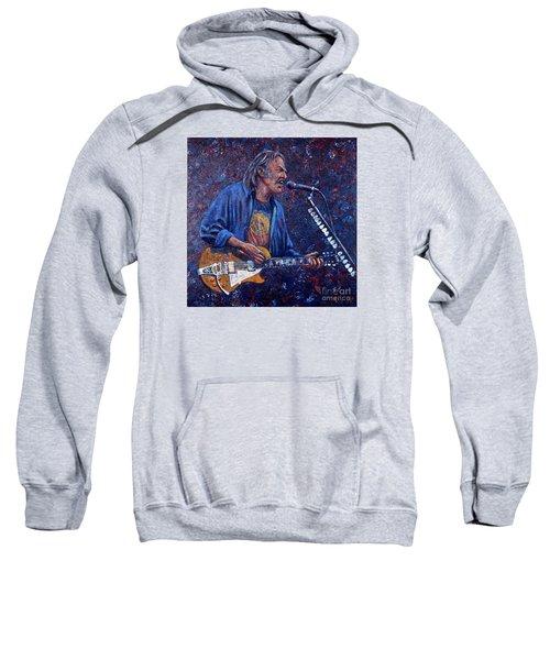 Neil Young Sweatshirt by John Cruse Knotts