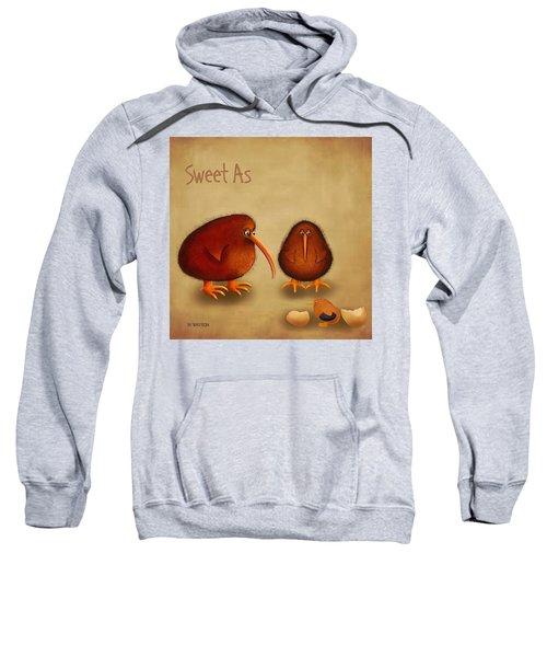 New Arrival. Kiwi Bird - Sweet As - Boy Sweatshirt by Marlene Watson