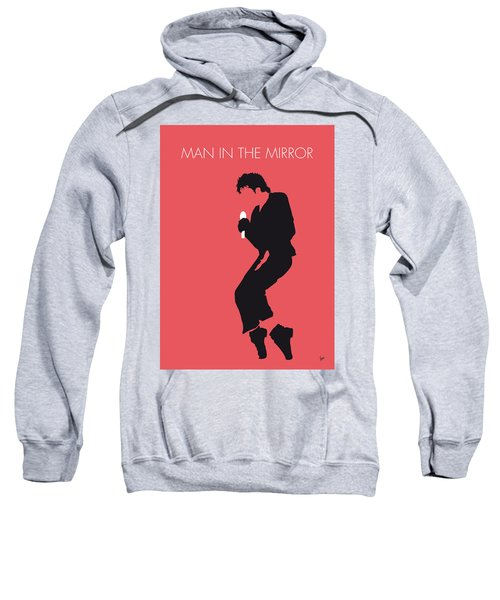No032 My Michael Jackson Minimal Music Poster Sweatshirt by Chungkong Art