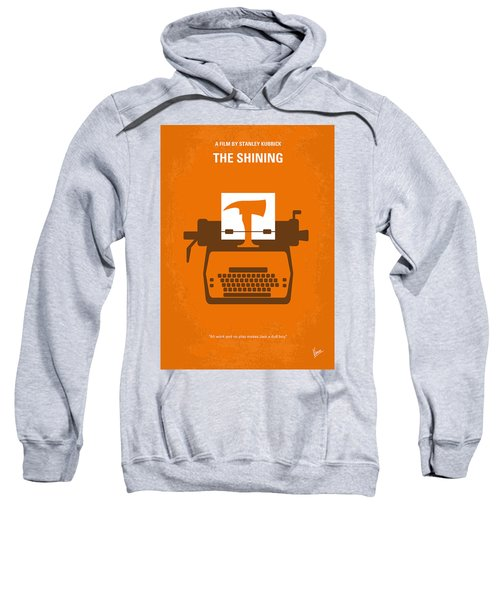 No094 My The Shining Minimal Movie Poster Sweatshirt by Chungkong Art