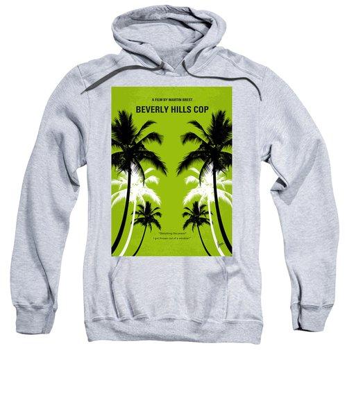 No294 My Beverly Hills Cop Minimal Movie Poster Sweatshirt by Chungkong Art
