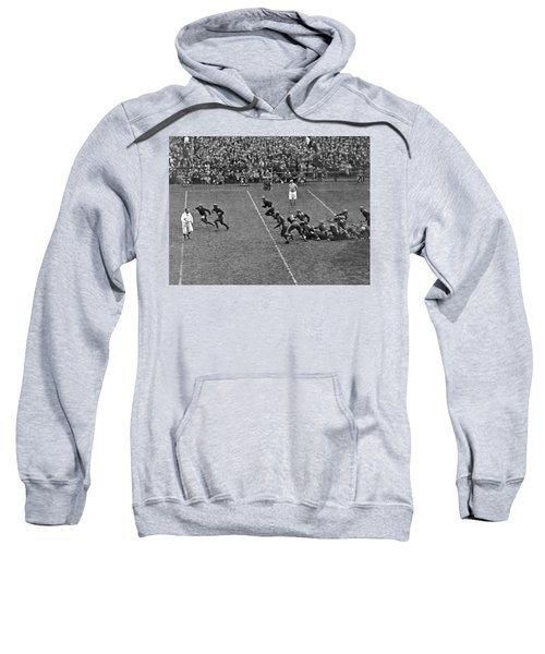 Notre Dame Versus Army Game Sweatshirt by Underwood Archives