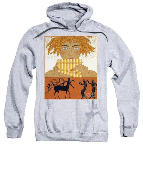 Pan Piper Sweatshirt by Georges Barbier