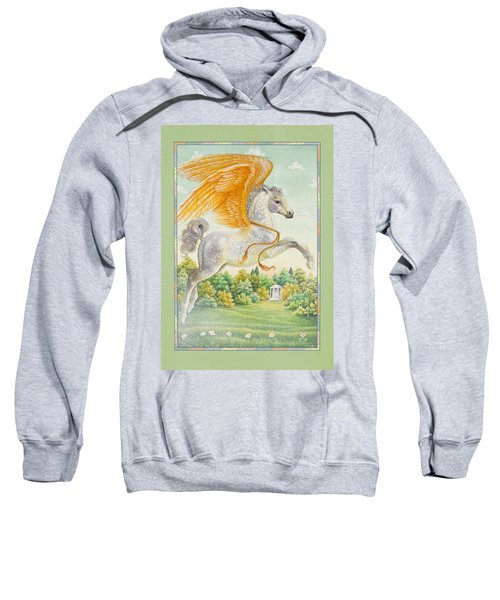 Pegasus Sweatshirt by Lynn Bywaters